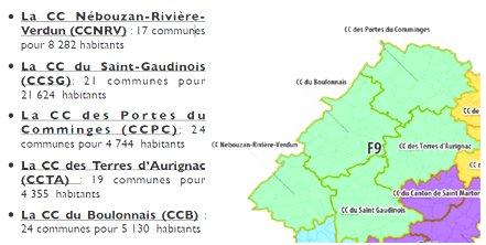 carte intercommunalité